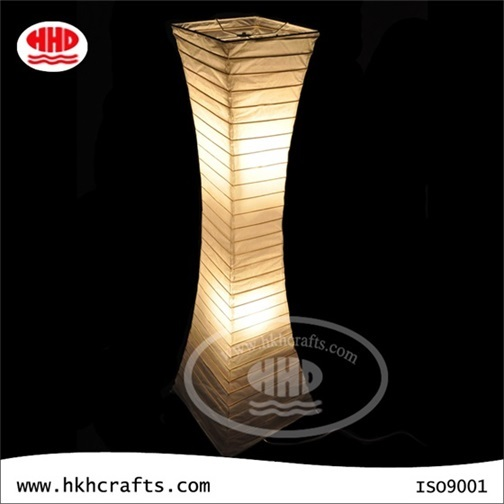 2016 Hot Sale Factory Made Standing Lamp Paper Lantern For Home Decoration