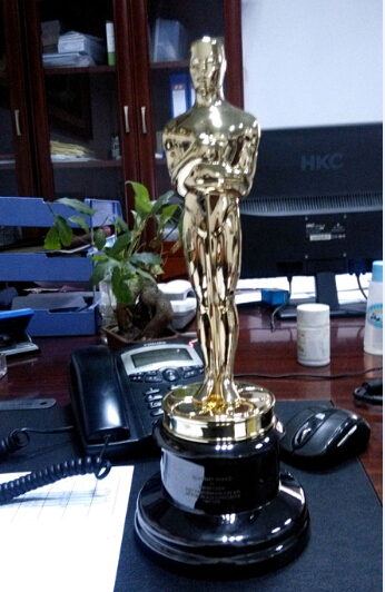 2016year Oscar Trophy Real About 13 5 High
