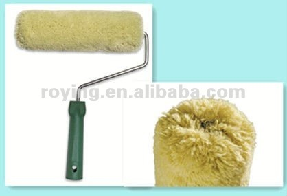 206round Head Acylic Polyacrylic Green Paint Roller