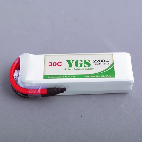 2200mah 3s 30c Rc Lipo For Helicopter