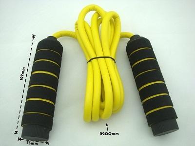 220cm Length Foam Coated Handle Jump Rope
