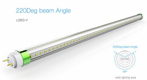 220deg Beam Angle T8 Led Tube L06g V High Quality