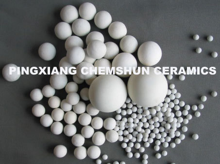 23 30 Al2o3 Inert Ceramic Balls As Catalyst Support Covering