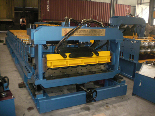 24 5 183 3 1100 Roof Tile Forming Machine
