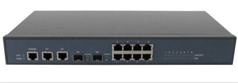 24 Port Web Smart Network Switch Poe Ethernet