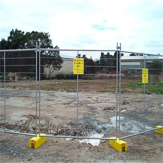 240 X 210cm Galvanized Steel Temporary Fence Panel Metal Privacy Fences