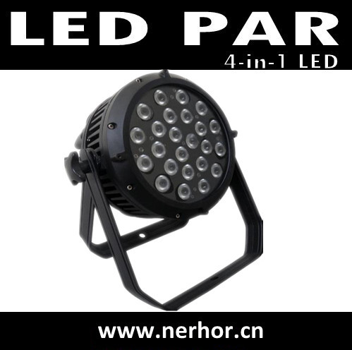24pcs 4in1 Led Water Proof Pro Par Can Dj Stage Effect Dmx 512 Light Ne 117