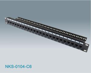 24port Rj45 Cat6 Utp Modular Patch Panel Nks 0104 C6