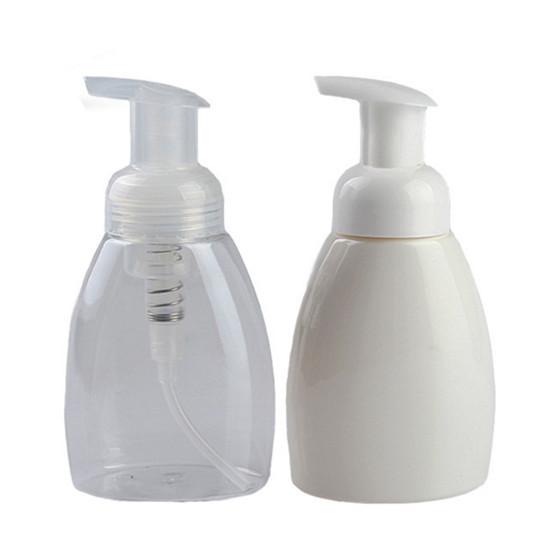 250ml Empty Plastic Pet Foam Bottle For Personal Care Packaging