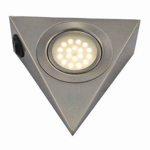 25w Triangle Led Cabinet Swivel Puck Light