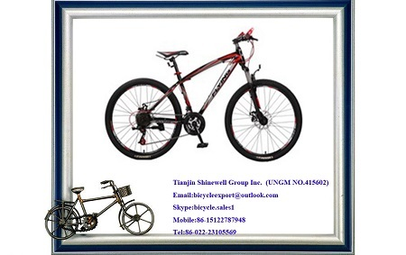 26 Inch Mountain Bicycle With Suspension Fork
