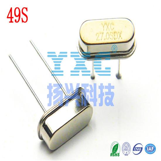 27mhz 49s Dip 20pf 20ppm Passive Quartz Crystal Resonator