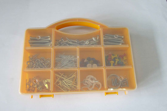 290pc Homeowener Assortment Set Screws Nails
