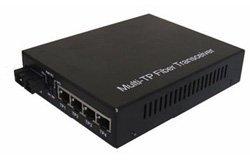 2fiber Port 4utp Fast Ethernet Media Converter