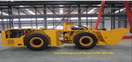2m3 Underground Diesel Lhd Wj 2a