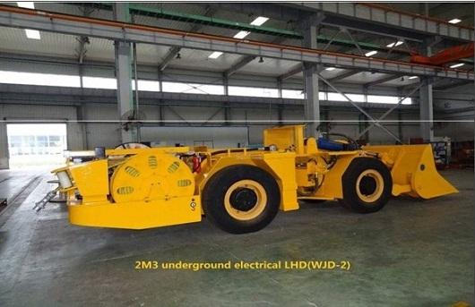 2m3 Underground Electric Lhd Wjd 2