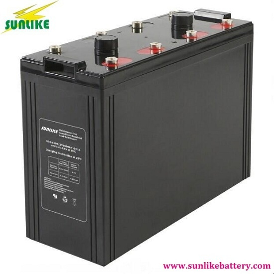 2v1000ah High Quality Maintenance Free Deep Cycle Vrla Battery