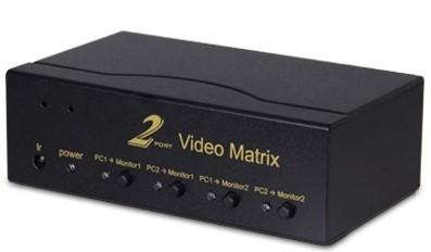 2x2 Vga Audio Matrix Hl Mxva202