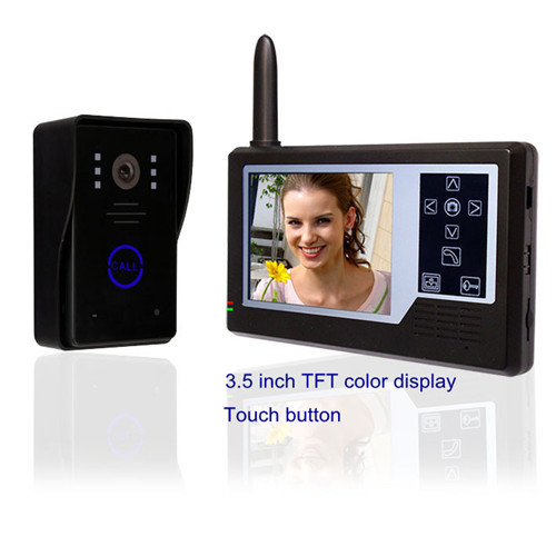 3 5 Inch Touch Wireless Video Doorbell