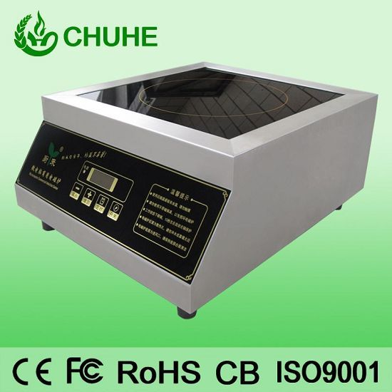 3 5kw Flat Induction Cooker For Fast Food Restaurant