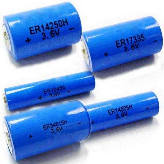 3 6v Lithium Battery 2 3aa Size Er14335 Er14335h Tl 2155 4955 5155 5955