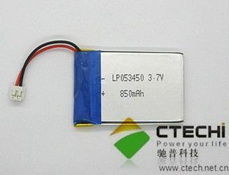 3 7v 850mah Polymer Battery Lp053450