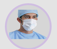 3 Ply Face Masks Safety Products Series