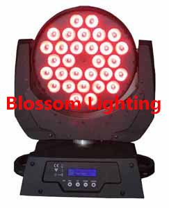 30 10w Zoom Led Moving Head Wash Light Bs 1015
