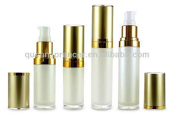 30 50ml Lotion Pump Acrylic Bottle For Cosmetic Packing
