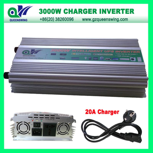 3000w Modified Sine Wave Power Inverter With 20a Charger