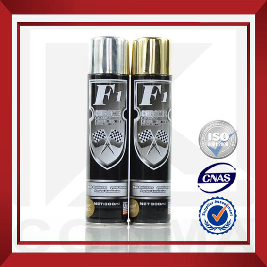300ml Chrome Spray Paint For Plastic