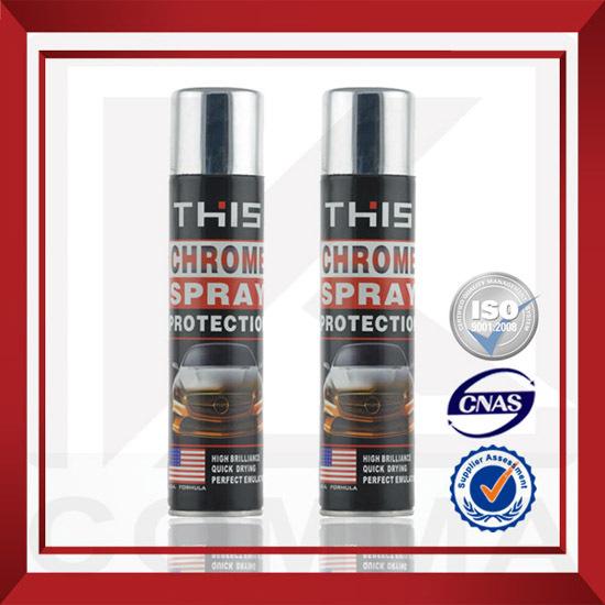 300ml Gold Chrome Spray Paint Application Method State Liquid Coating Brand