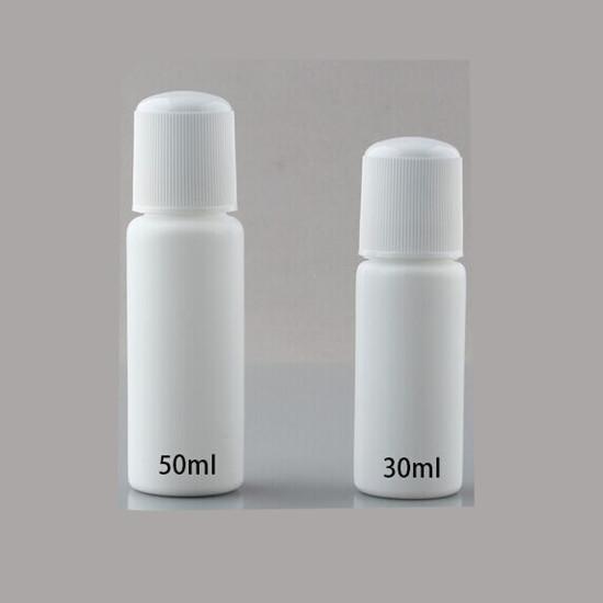 30ml 50ml Hdpe Medical Plastic Bottle With Sponge