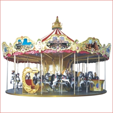 32 People Luxurious Carousel