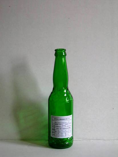 330ml Green Beer Bottle