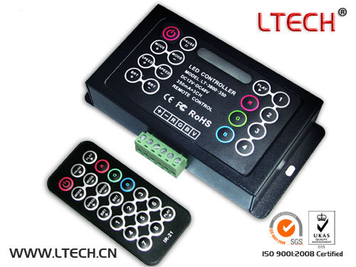 350ma Ch 3 Cc Lt 3800 350 Led Rgb Controller With Romote Control 18 Changin