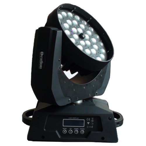 36 12w Rgbw 4 In 1 Led Zoom Moving Head Wash Stage Lighting