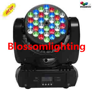 36 3w Rgbw Led Moving Head Beam Light Bs 1013
