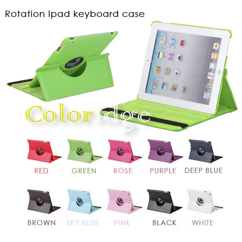 360 Rotation Stand Cover Case For Ipad