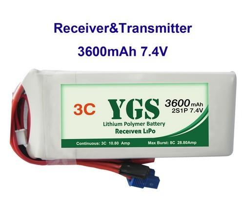 3600mah 7 4v Transmitter Rc Lipos