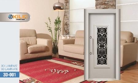 3d 001 Steel Security Door