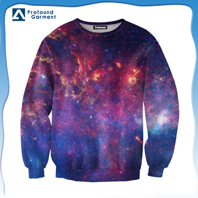 3d Cotton Sweatshirt 100 Digital Allover Printing Sweater Sportswear