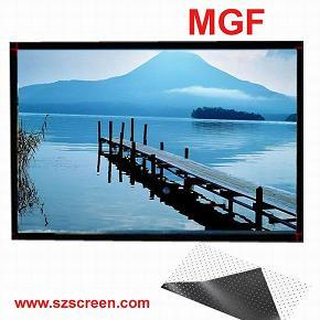 3d Fixed Frame Projection Screen