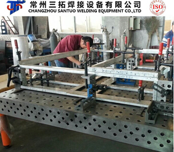 3d Steel Welding Table For Pipe
