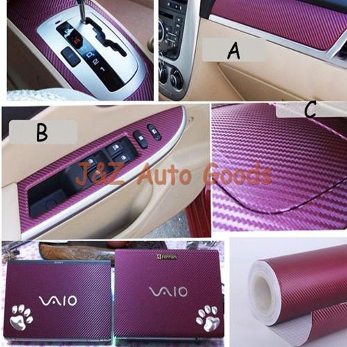 3m Carbon Fiber Vinyl Auto Exterior Accessories