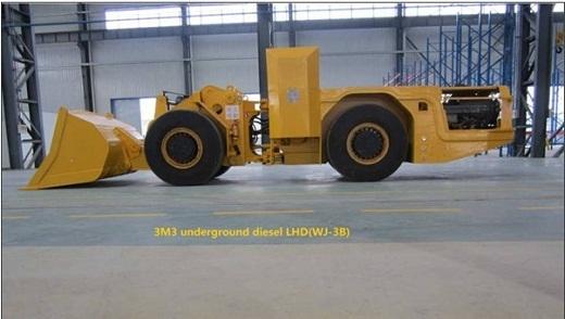 3m3 Underground Diesel Lhd Wj 3b