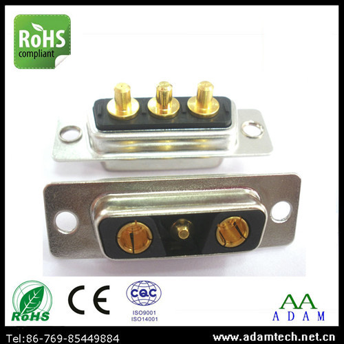 3pin D Sub Combo 3v3 High Power Connector For Medical Equipment Supplier