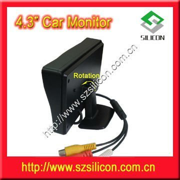 4 3inch Silicon New Car Lcd Monitor