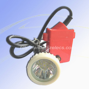 4 5ah Corded Led Safety Mining Cap Lamp Gas Alarm Miners