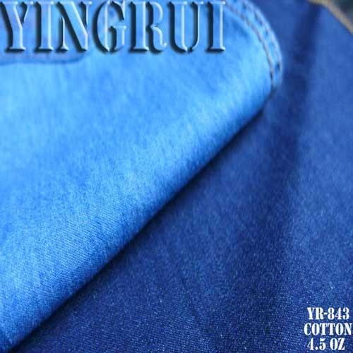 4 5oz 100 Ctn Chambray Denim Fabric